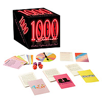 1000 Sex Games Card and Spinner Game
