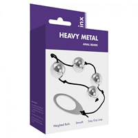 Heavy Metal Anal Beads