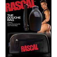 Rascal The Douche Bag (with leather bag)