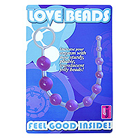 Anal Love Beads Purple