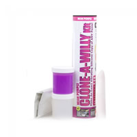 Clone A Willy Vibrating Kit - Neon Purple