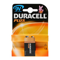 Duracell Plus 9 volt Battery