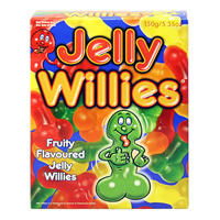 Edible Jelly Willies Fun Sweets