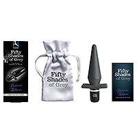 Fifty Shades Delicious Fullness 10 Speed Vibrating Butt Plug