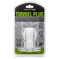 Perfect Fit Tunnel Plug Clear Large
