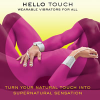 Hello Touch Jimmy Jane Double Finger Vibrators