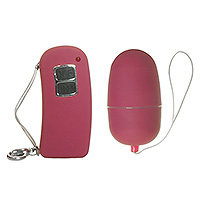 Pink 10 Speed Remote Control Vibrating Egg