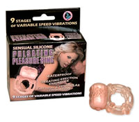 Waterproof Pulsating Pleasure Ring