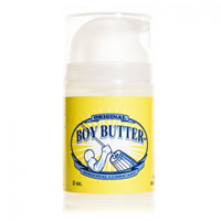 Boy Butter Original Pump Transparent 2oz