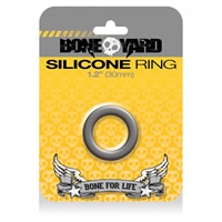 BoneYard Silicone Ring Grey 30mm