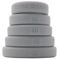 BoneYard 5 Pack Silicone Rings-Grey
