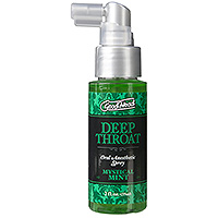 Doc Johnson Good Head Deep Throat Spray Mint
