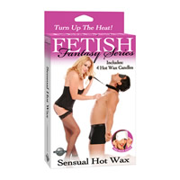 Fetish Fantasy Sensual Hot Wax (4 Candles)