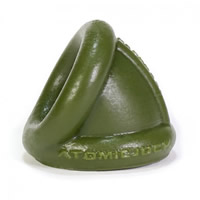 Oxballs Ball Bender Nut-Hugging Stretcher Green