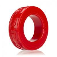 Oxballs Silicone Pig Ring Red