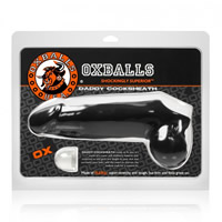 Oxballs Daddy Cock & Ball Sheath Black