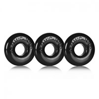 Oxballs Ringer 3 pack Black