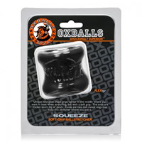 Oxballs Squeeze Blubberry Ball Stretcher Black