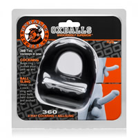 Oxballs 360 Cockring and Ballsling Black