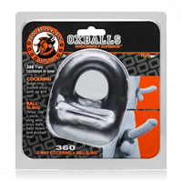 Oxballs 360 Cockring and Ballsling Silver