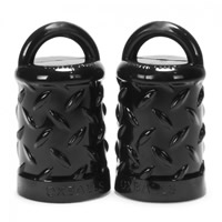 Oxballs Nipple Grippers Black
