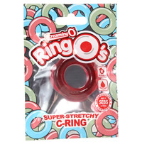 Screaming O Ringo Silicone Cock Ring Red